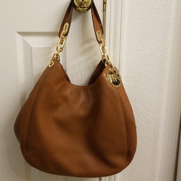 Michael Kors Bags   Mk Hobo Bag Camel Color   Poshmark 09e3494f28